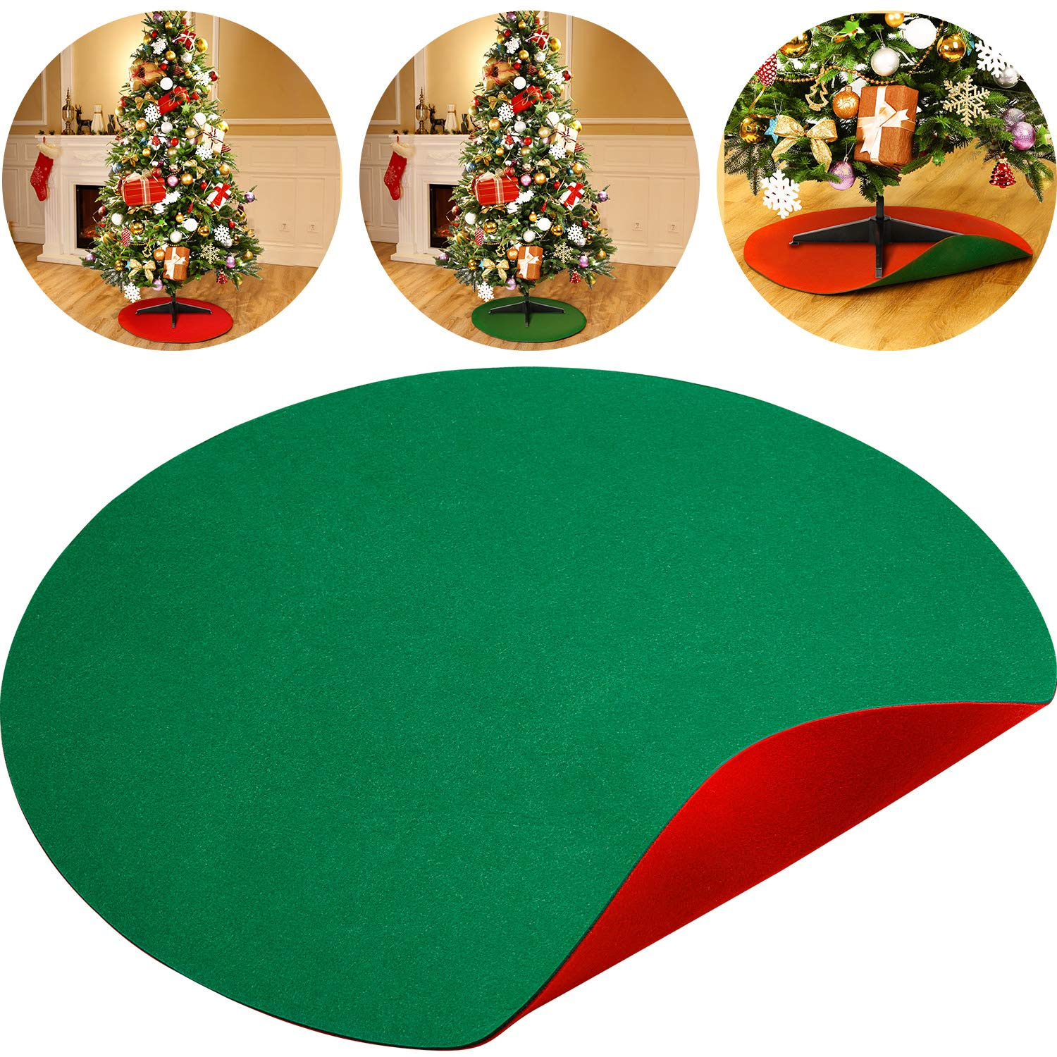 Christmas Tree Stand.Amazon Com Boao 30 Inch Reversible Christmas Tree Stand Mat