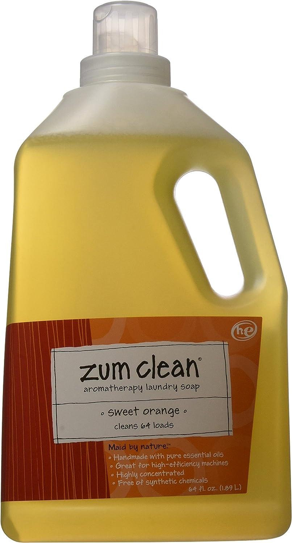 Zum Laundry Soap,Sweet Orange,64 oz.(2-Pack)