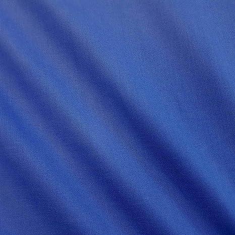 Meterware Stoff Baumwollstoff Fahnentuch 100 Baumwolle Royal Blau Königsblau Küche Haushalt