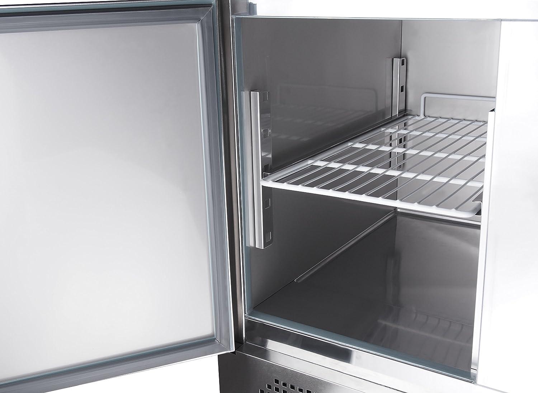Zorro - Saladette ZS903 - 3 Türen - Kühltisch mit Deckel ...
