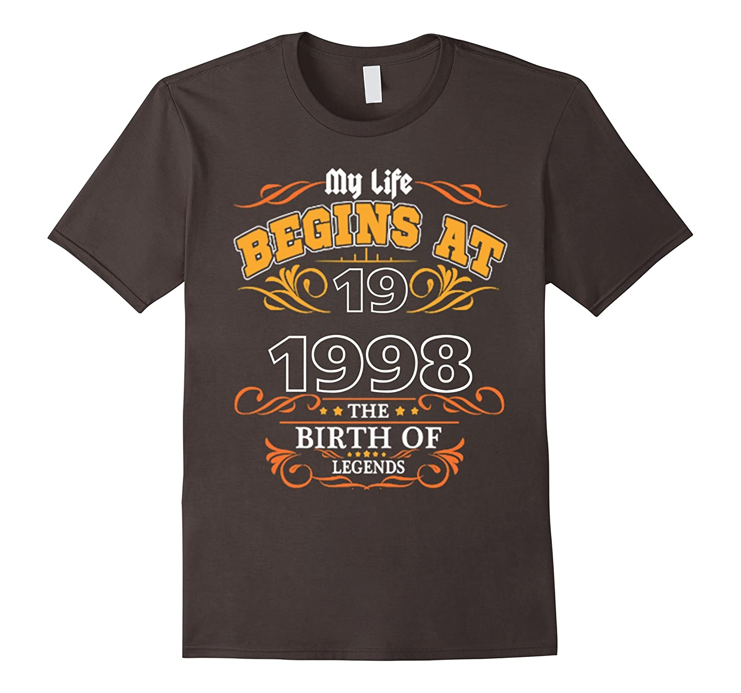 HAPPY 1998 MY 19TH YEARS OLD BIRTHDAY GIFT IDEAS T SHIRT-Vaci