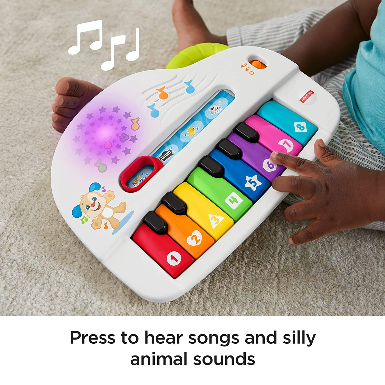 Fisher-Price GFK04 Piano: Amazon.es: Juguetes y juegos