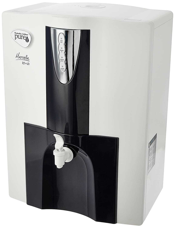 Hul Pureit Marvella Ro Uv 10 Litre Water Purifier Home Classic 9l Kitchen