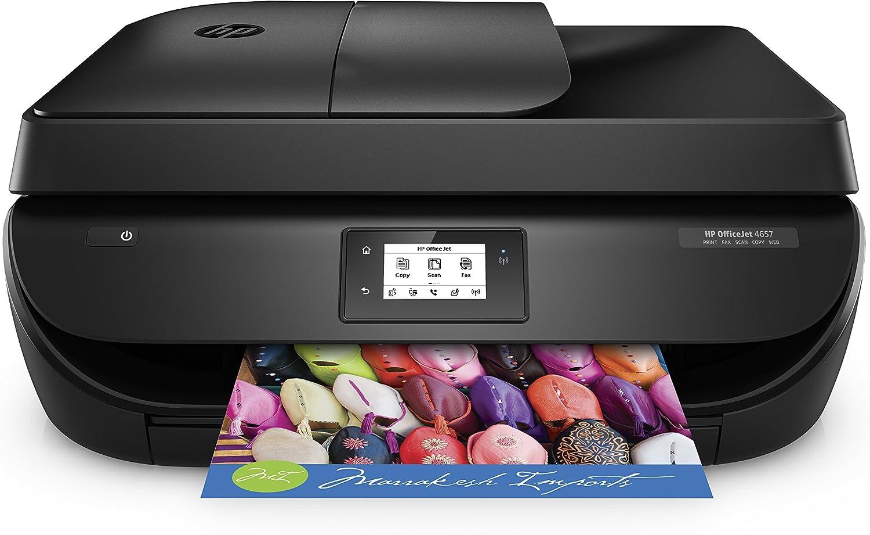 HP OfficeJet 4657 Inyección de Tinta térmica 9,5 ppm 4800 x 1200 ...