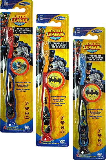 Amazon.com: Assorted Batman Toothbrush (1 Piece Set) - Batman Toothbrushes: Beauty