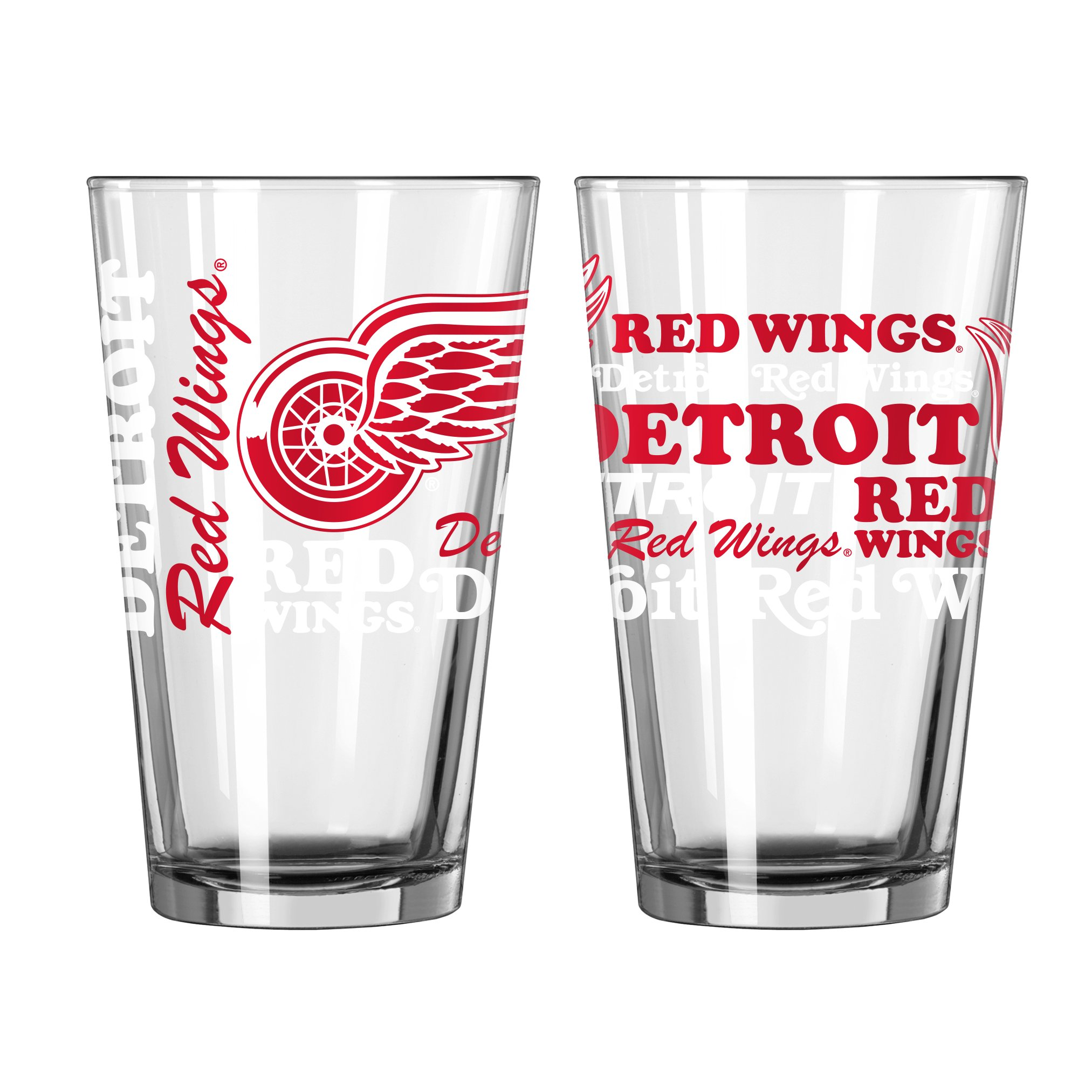 Detroit Red Wings Official NHL 16 fl. oz. Spirit Pint Glass
