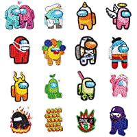 5D DIY Diamond Painting Stickers Kits for Kids, Game Us Diamond Art Mosaic Stickers by Numbers Kits Crafts Set for…