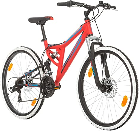 Bikesport Integral Bicicleta de Montaña de Doble Suspension Rueda ...