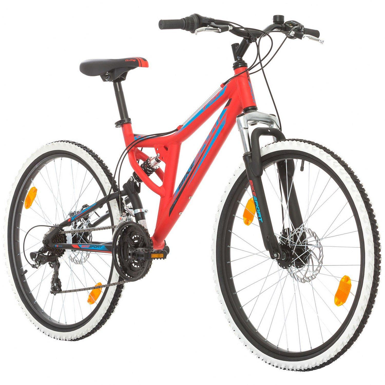 Bikesport INTEGRAL Bicicleta de montaña de doble suspension rueda 26 ...
