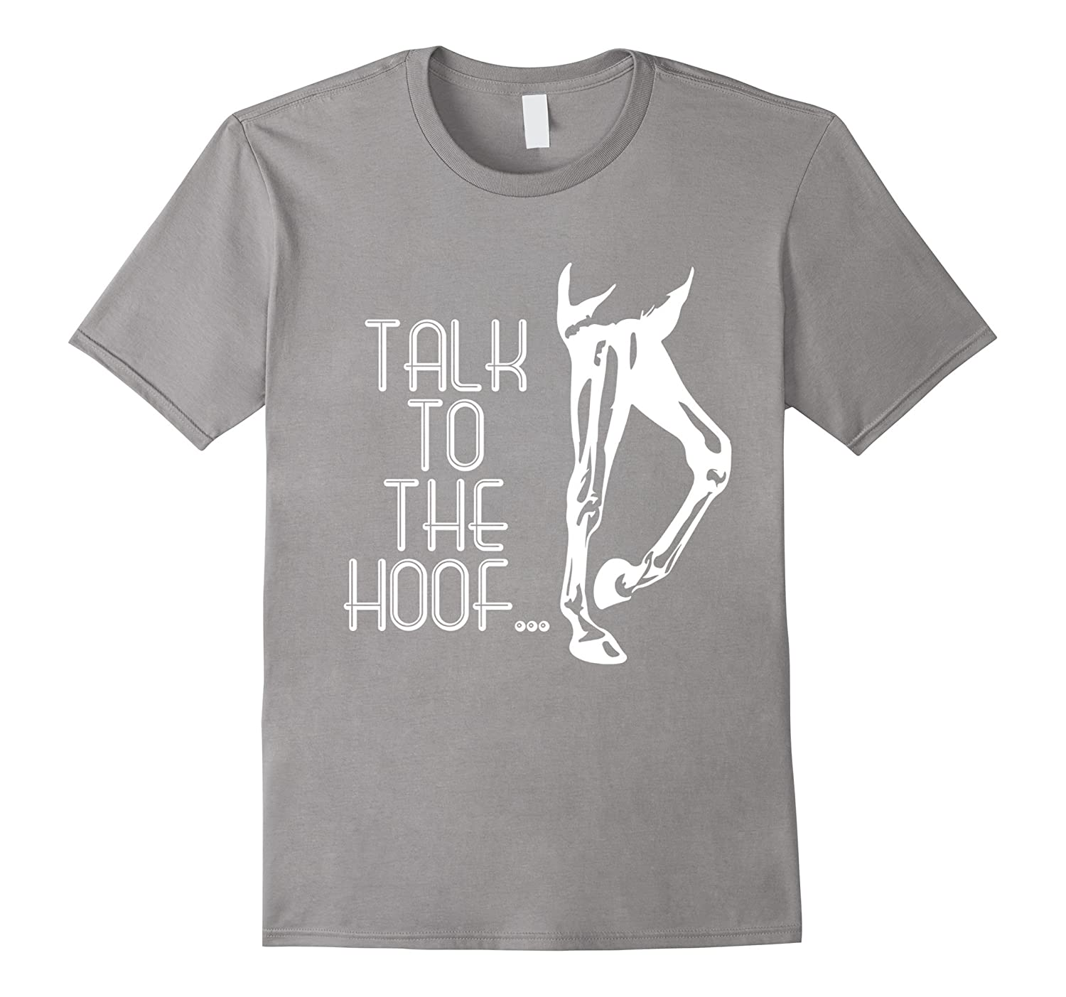 e914ca477 Men's Talk To The Hoof Funny Pet Horse Riding Lovers Gift T-Shirt 2XL  Slate: Amazon.co.uk: Clothing