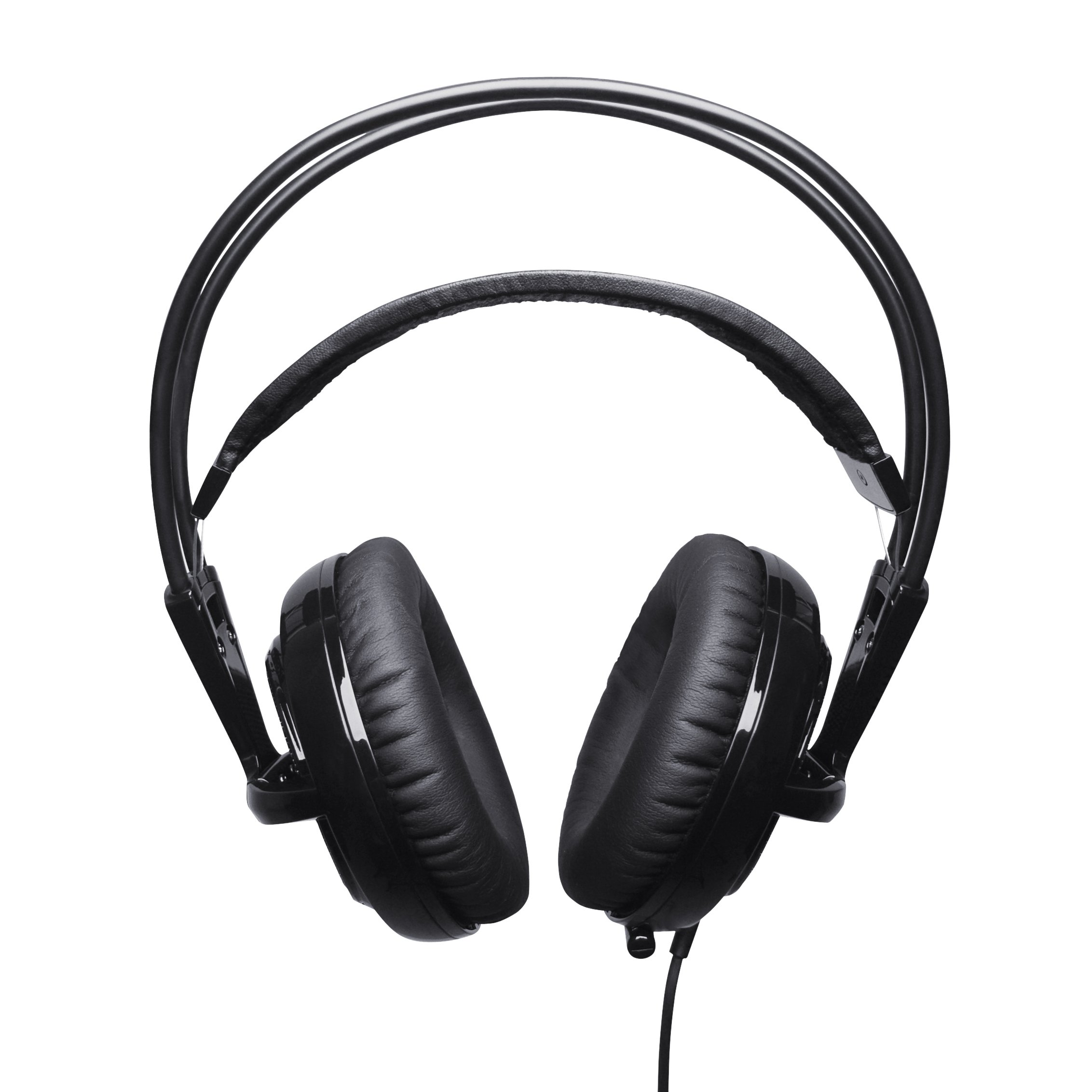 SteelSeries Siberia v2 Full-Size USB Gaming Headset with Virtual Surround 7.1 Sound (Black)