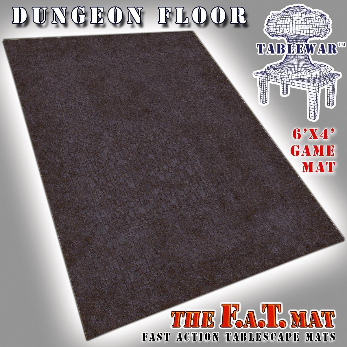 F.A.T. Mats - 6' x 4' Tablewar 6' x 4' - Dungeon Floor by F.A.T. Mats - 6' x 4' Tablewar