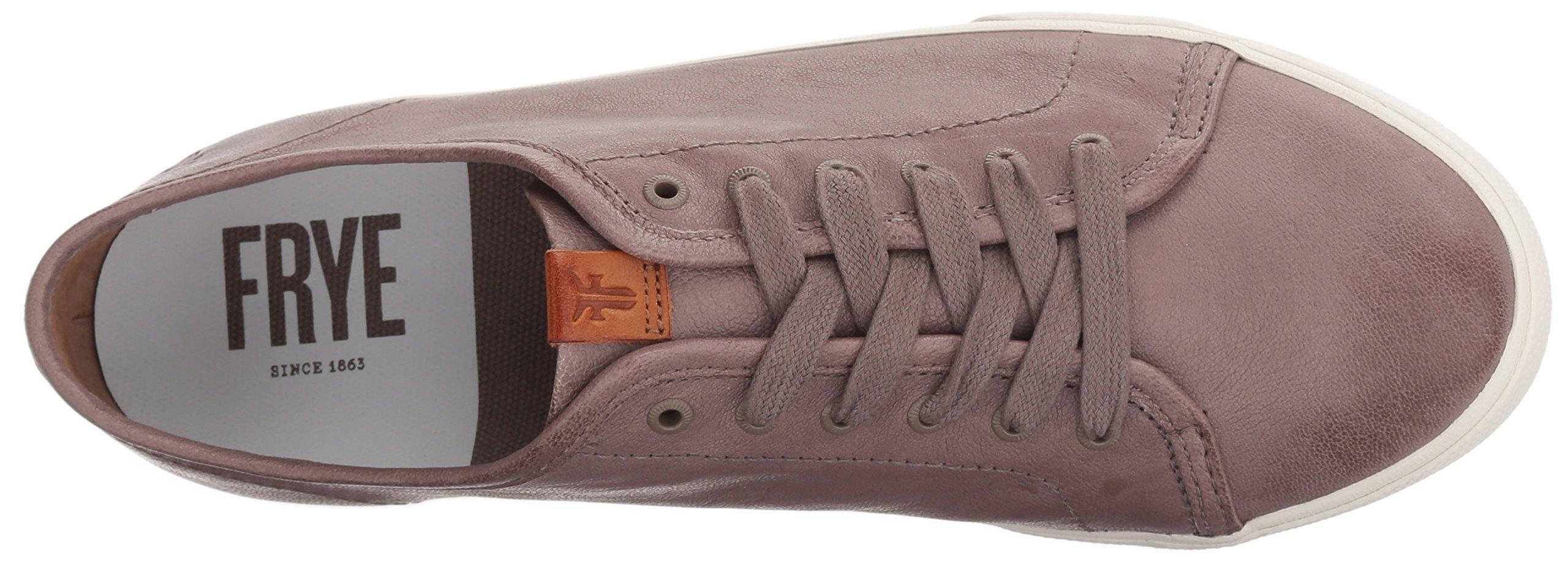 FRYE Women's Maya Low Lace Sneaker, Cement, 6.5 M US by FRYE (Image #8)