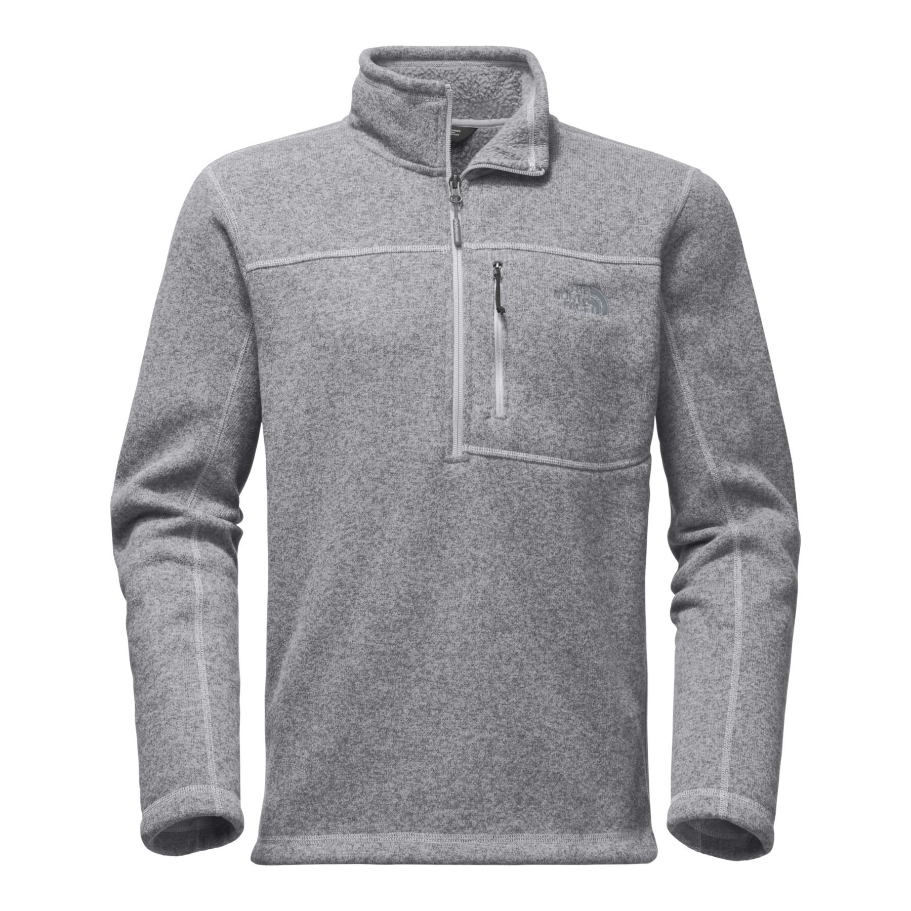 The North Face Men's Gordon Lyons 1 & 4 Zip Fleece - TNF Light Grey Heather - L by The North Face