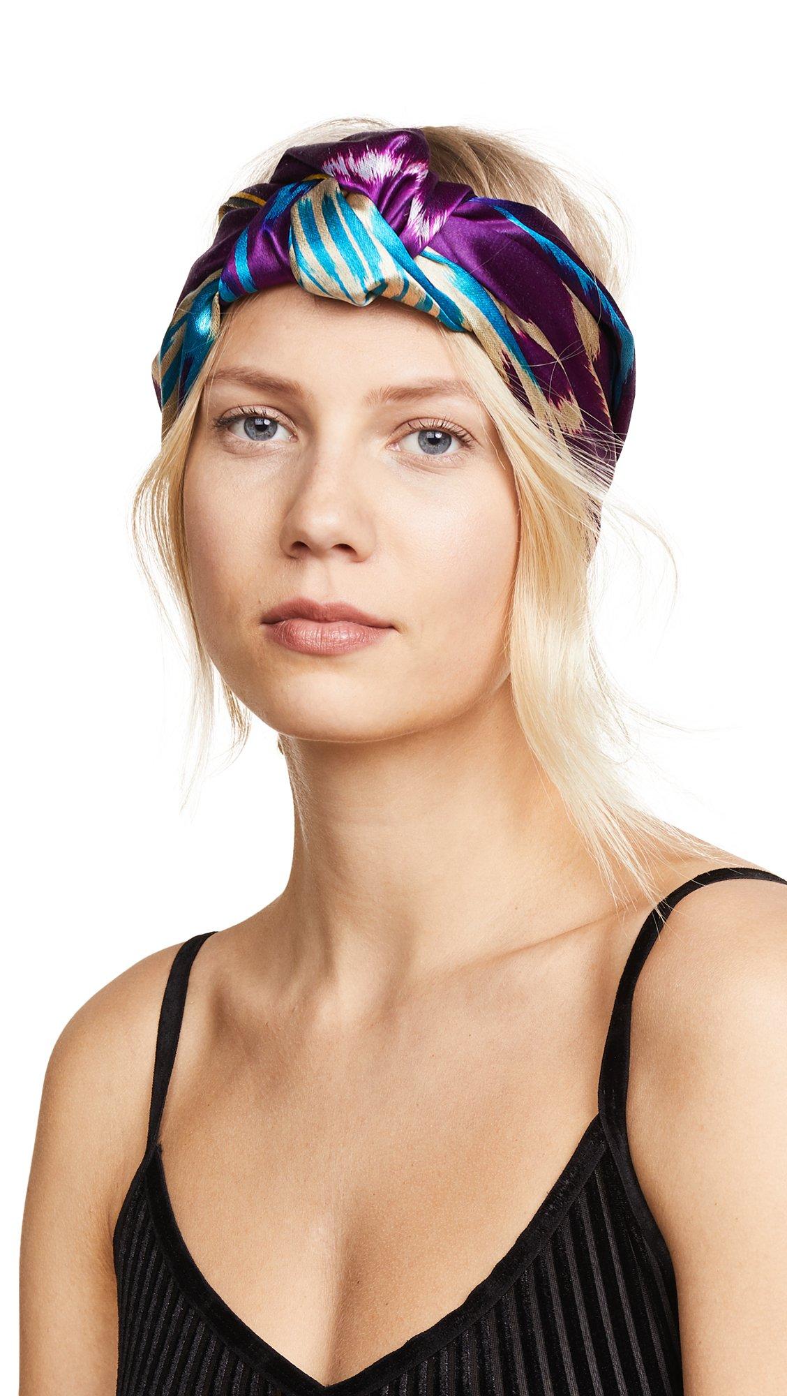 Jennifer Behr Women's Marin Turban Headband, Amethyst, One Size by Jennifer Behr