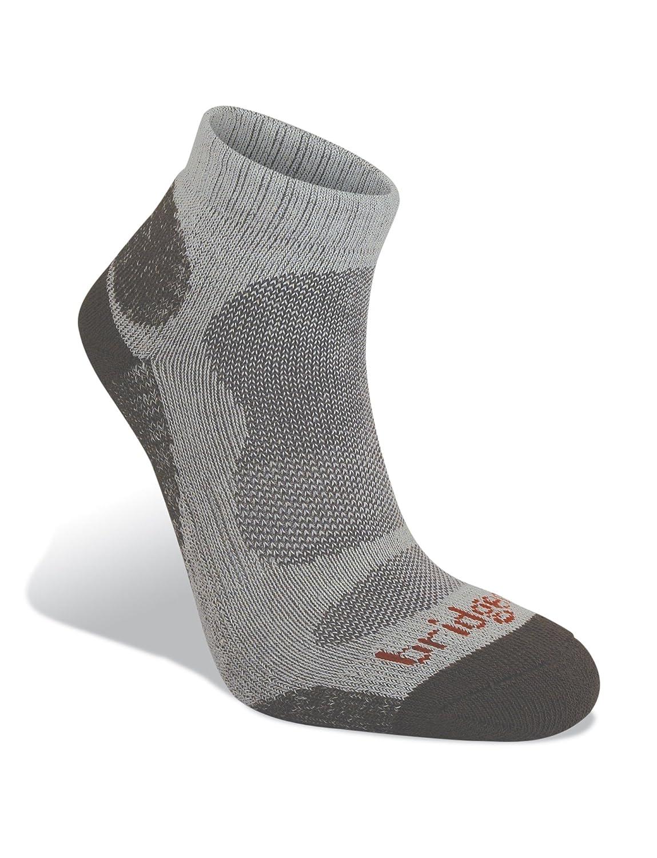 Bridgedale Men's Bamboo Lo Socks, Natural Grey, X-Large B610800-821-XL
