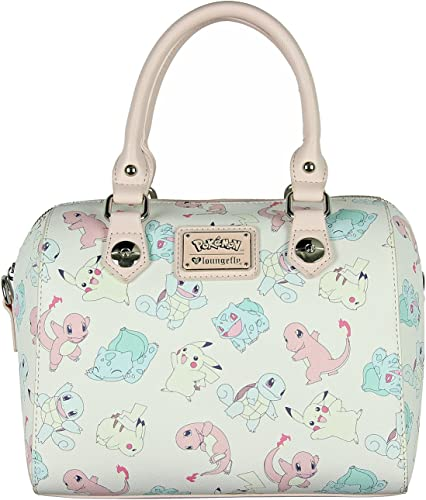 Loungefly Pokemon Purse Tote All Characters Double Sided NEW RELEASE