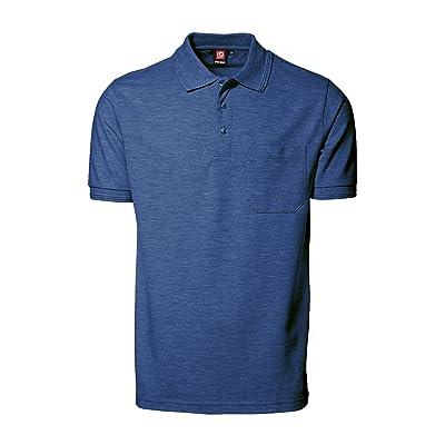 (アイディー) ID メンズ Pro-Wear 胸ポケット 半袖 ポロシャツ