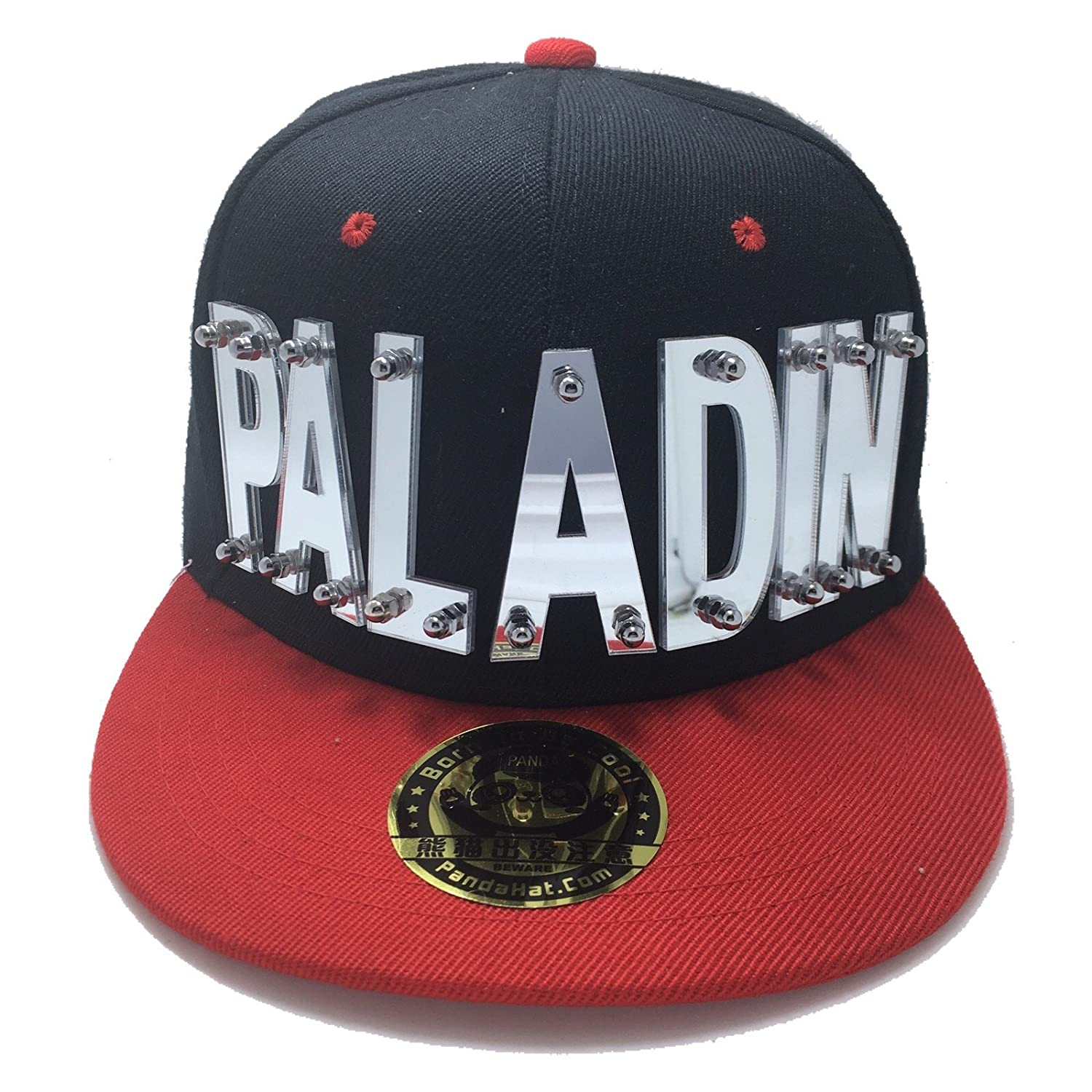 8571f935f PALADIN VOLTRON HAT IN BLACK WITH RED BRIM