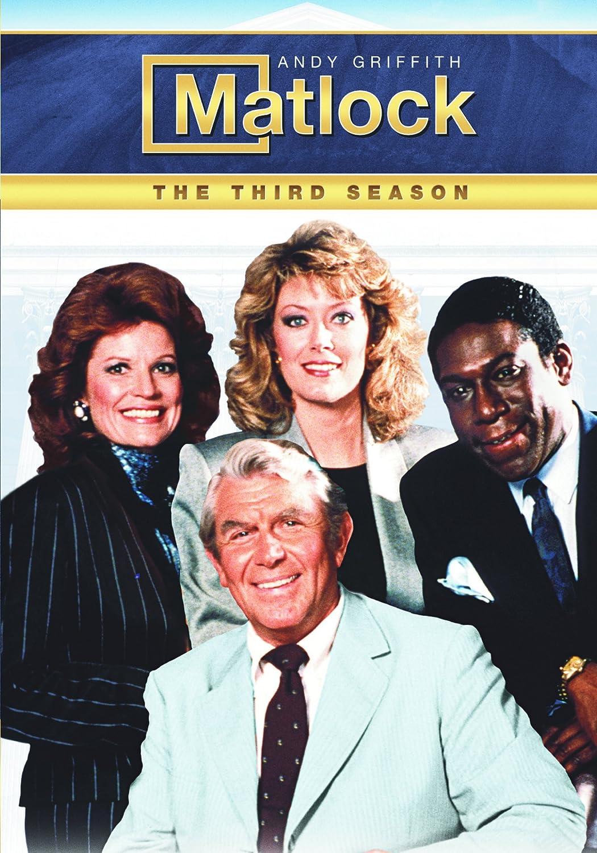 Matlock: The Third Season Andy Griffith Kene Holliday Drama Movie
