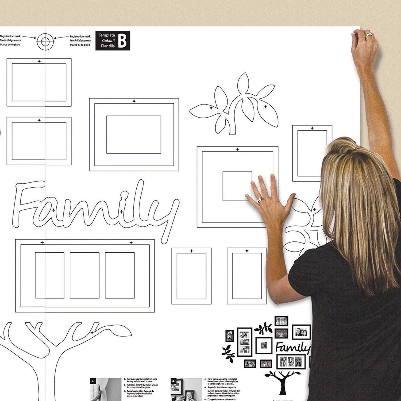 Buy Paper Plane Design Rectangular Eye Catching Collage Family Tree