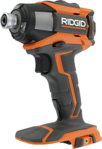 Ridgid R86035 Gen5X 18V Cordless Lithium Ion 2,000 Inch Pounds Impact Driver w Quick Release Chuck, LED Lighting, and Belt Clip Battery Not Included, Power Tool Only