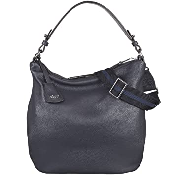 9999a74d96551 abro Beuteltasche Calf Adria in Navy ab-28108-37-20  Amazon.de ...