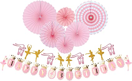 Amazon.com: Bailarina fiesta de cumpleaños, ballet bailarina ...