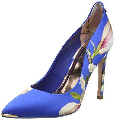 Hallden, Ballerines Bout Fermé Femme, Bleu (Blue Harmony), 37 EUTed Baker