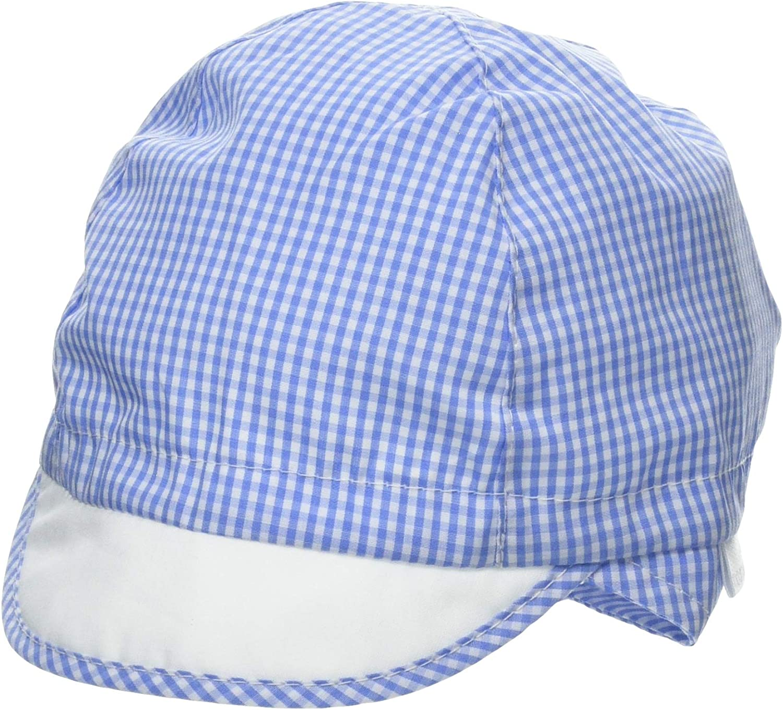 maximo Schildm/ütze Vichykaro Bindeband Sombrero para Beb/és Elastischer Einsatz