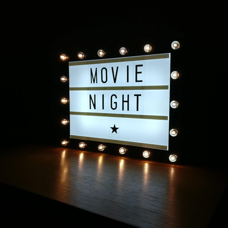 Cinema light box | Etsy