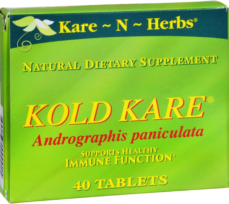Kare-N-Herbs Kold Kare - 40 Tablets