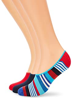 Happy Socks 3-pack Multi Dot Liner Sock Calcetines, Multicolor ...