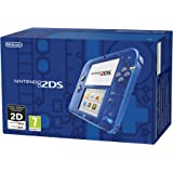 Nintendo 2DS Console, Blu Transparente