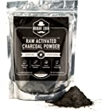Activated Charcoal Powder by Moody Zook - Premium Raw Organic Coconut Carbon Bulk - More Effective than Hardwood Charcoal - Natural Teeth Whitening, Detox, Digestion, Skin Care, Anti Aging