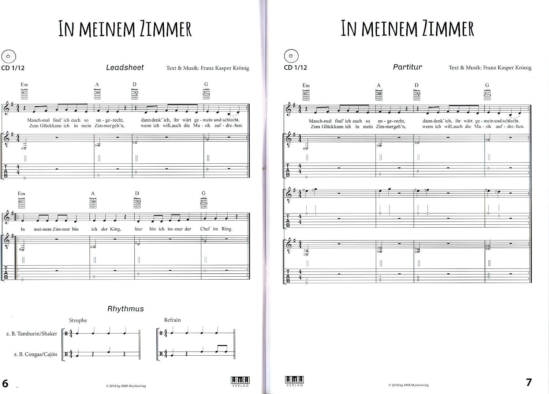 Canciones para guitarra Grupos – 11 Song kizzen para Común ...