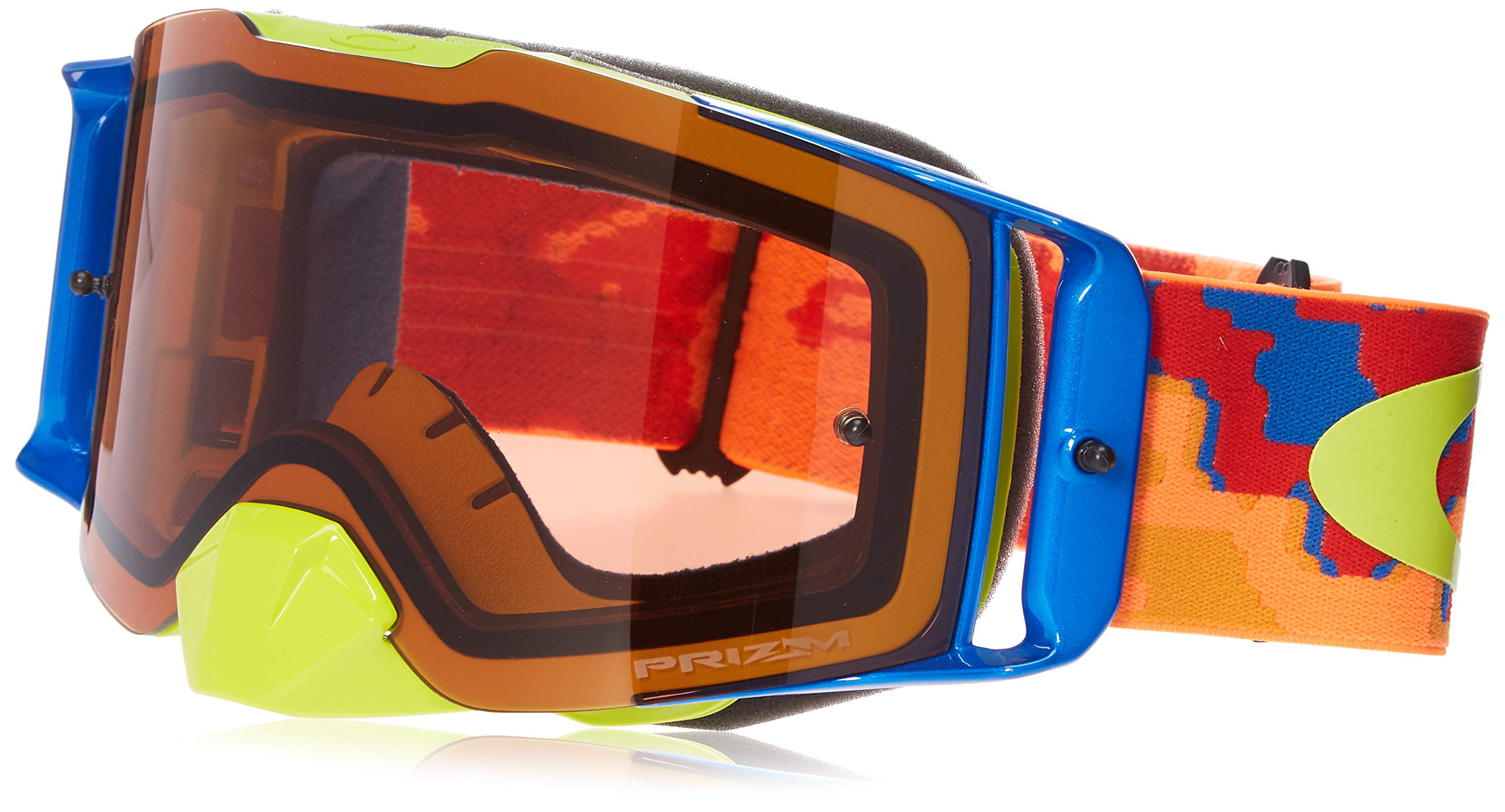 Oakley OO7087-14 FL MX Thermocamo Unisex-Adult Goggles, Large, Orange/Red