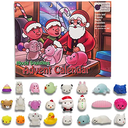 Amazon Com Toy Advent Calendar 2018 With 24 Different Cute Mochi
