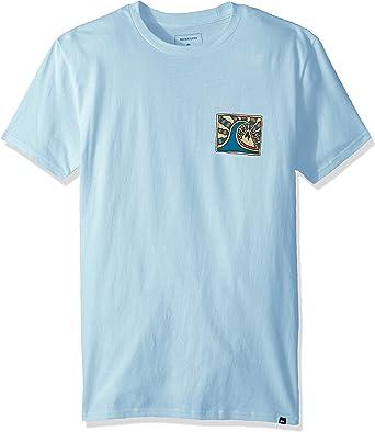 Quiksilver Drive Blind - Camiseta para Hombre - Azul - XX-Large: Amazon.es: Ropa y accesorios