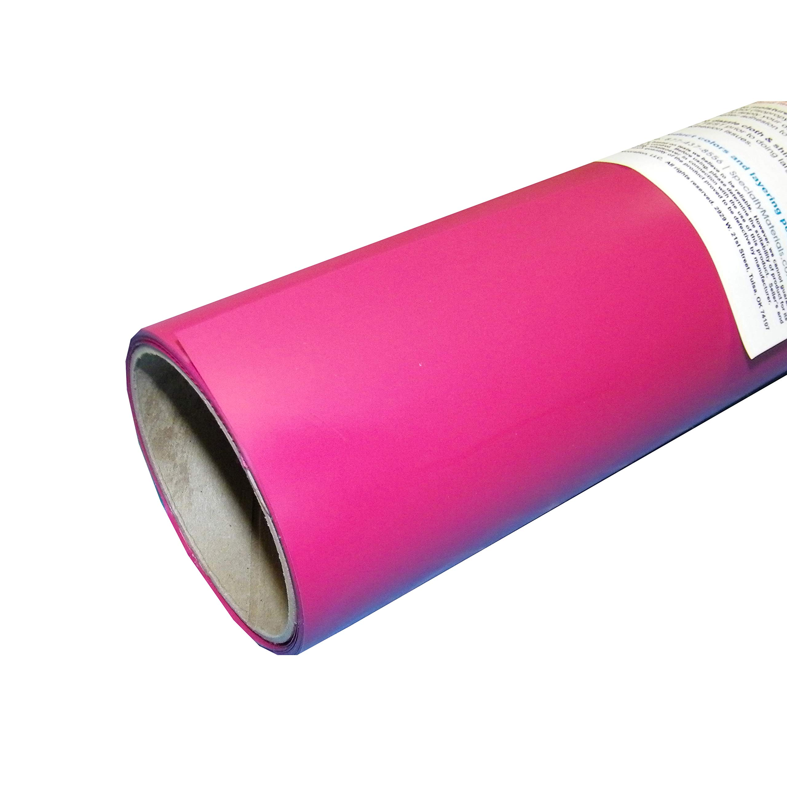 ThermoFlex Plus 15'' x 15' Roll Hot Pink Heat Transfer Vinyl by Coaches World by ThermoFlex Plus