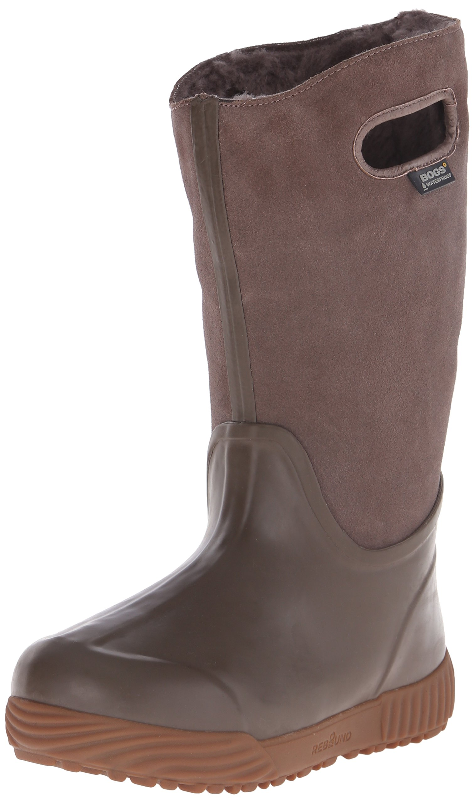 Bogs Women's Prairie Tall Waterproof Insulated Boot, Mushroom