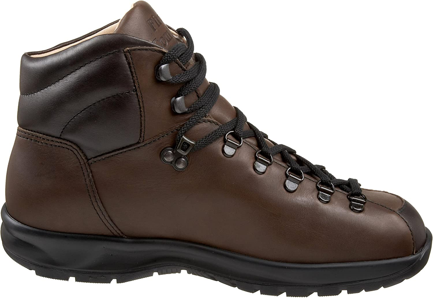 Finn Comfort Mens 3911 Garmisch Brown Leather Boots Braun