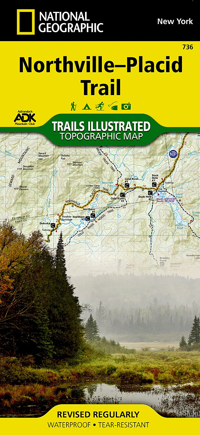 Northville Placid Trails Illustrated National Geographic product image