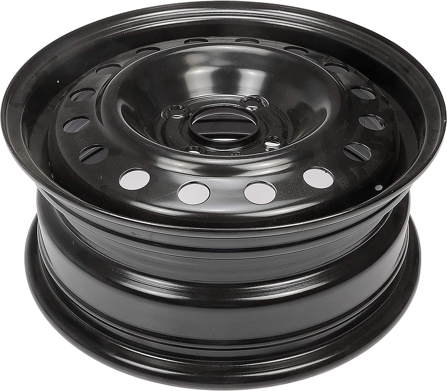 Dorman Steel Wheel with Black Painted Finish