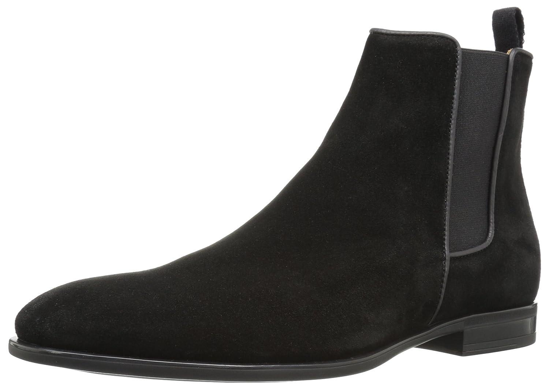 Aquatalia Men's Adrian Chelsea Boot, Black, 11.5 M US