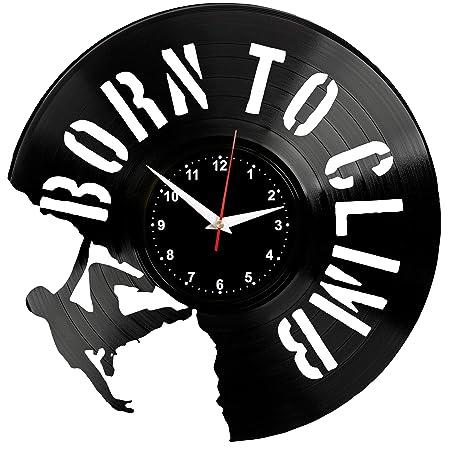 EVEVO Alpinismo Reloj De Pared Vintage Diseño Moderno Reloj ...
