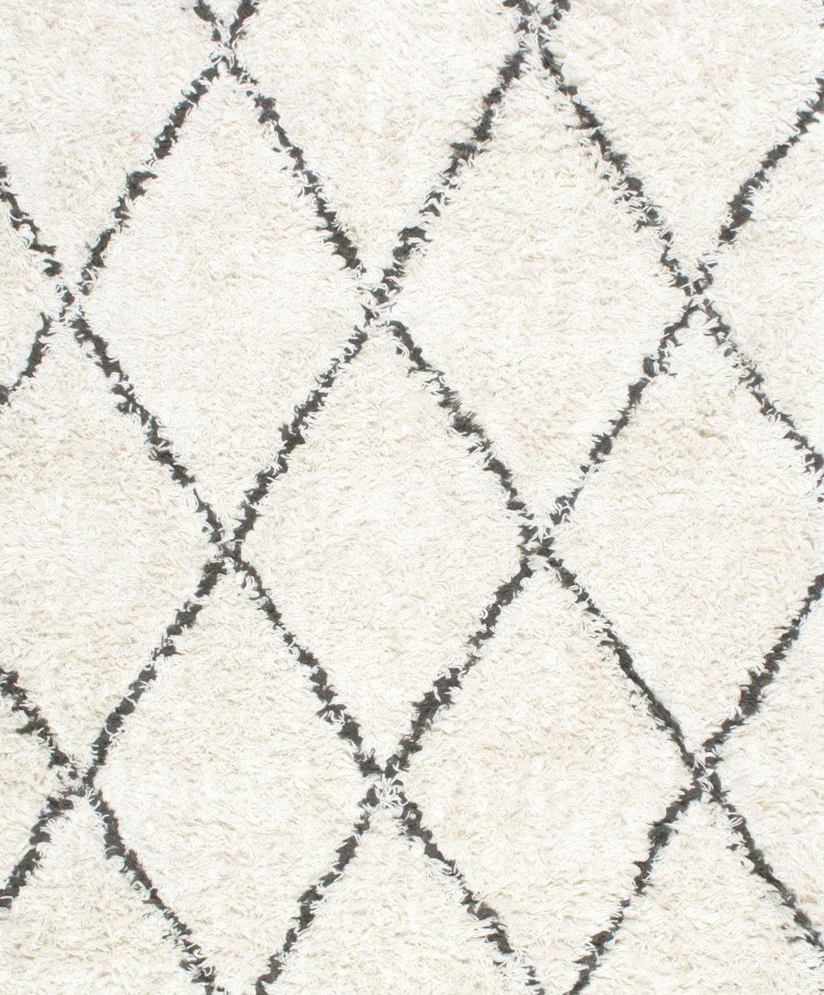 3 x 5 nuLOOM SPRE14A Handmade Fez Shag Rug Natural