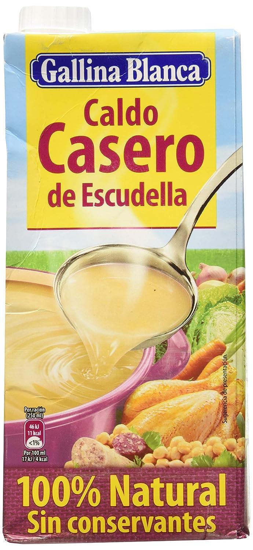 Gallina Blanca - Caldo Casero De Escudella 100% Natural: Amazon.es ...