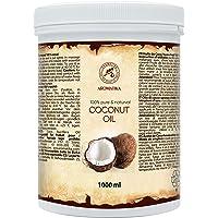 Kokosnötsolja 1000ml - Ren & Natural Kallpressad Kokos Basolja - Kocos Nucifera - Oraffinerad Olja för för Eteriska…