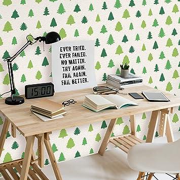Orman Stencil Tasarımı 30 X 30 Cmboyama şablonuduvar Stencil